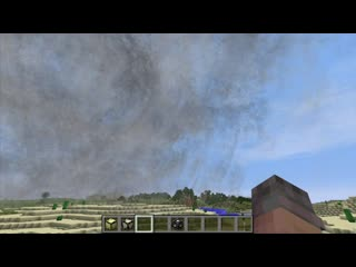 Weather-Storms-Tornadoes Mod    Minecraft