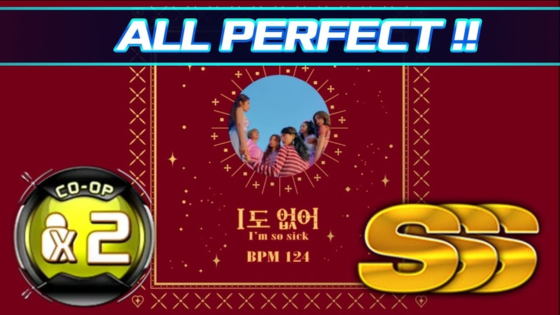[PUMP IT UP XX] Im So Sick (1도 없어) CO-OP X2 Double Performance | All Perfect!! (SSS) ✔