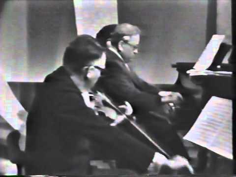 Alma Trio 1963 (Part 1) – Beethoven Trio Op. 70 No. 2