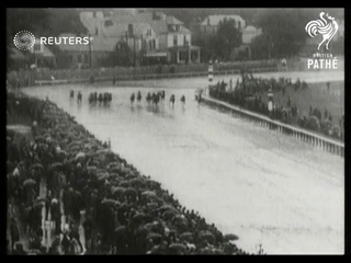 USA: 'Clyde Van Dusen' wins Kentucky Derby (1929)