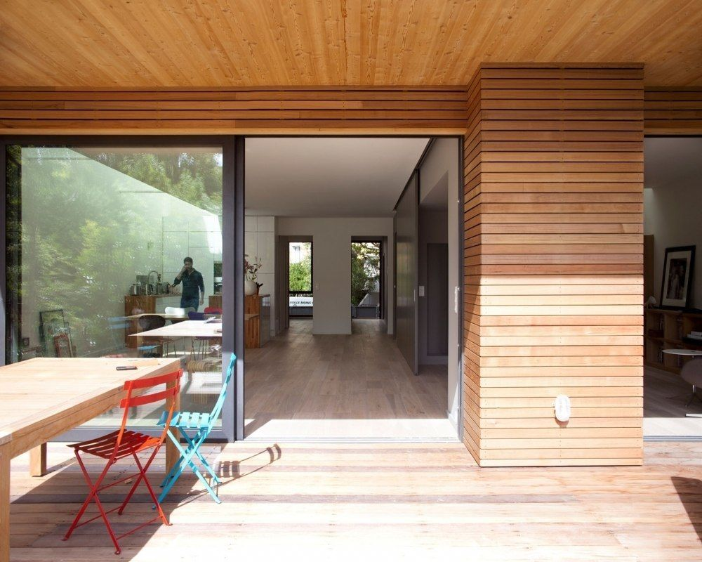 Экодом в Антони (Франция) от архитекторов Каролины Джурич и Мирко Тардио