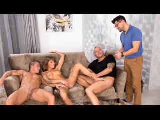 Silvia Dellai - Episode 3: Cops D.P. a Nympho [Only3xSeries] Anal Sex DP Double Penetration Facial Creampie Порно С Сюжетом