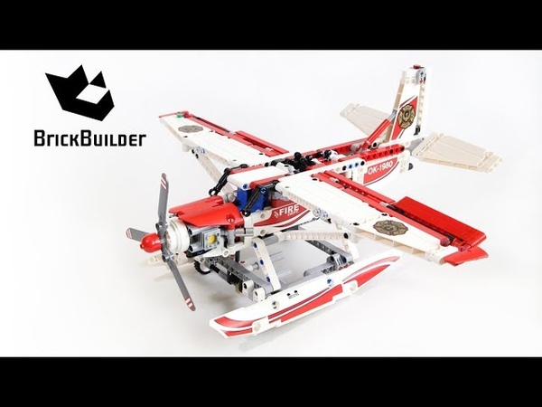 Lego Technic 42040 Fire Plane - Lego Speed build