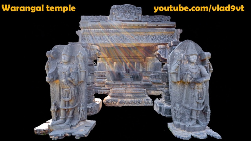 Impossible Warangal Hindu Temple. Unthinkable skill of stone processing Second Part
