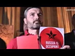 Российских актеров в Грузии встретили со скандалом