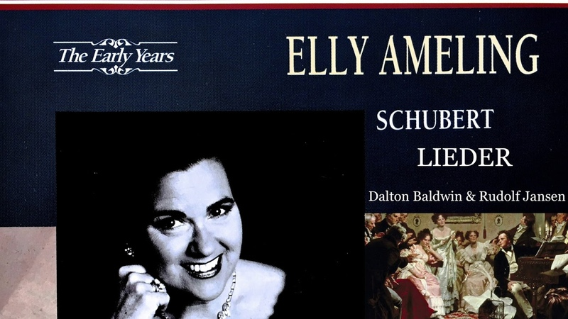 Schubert 39 Lieder Die Forelle The Trout Presentation Century's recording Elly Ameling