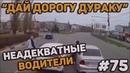 Автоподборка Дай дорогу дураку 🚘 Неадекватные водители 75