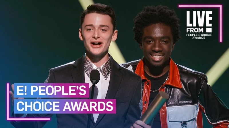 Stranger Things Wins Drama Show of 2019 | E! People's Choice Awards