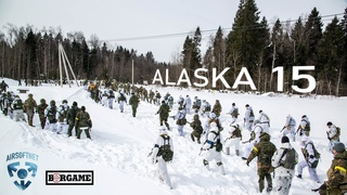 САМАЯ СНЕЖНАЯ ИГРА ГОДА   THE SNOWIEST AIRSOFT GAME OF THE YEAR   ALASKA - 15 AIRSOFT GAMEPLAY
