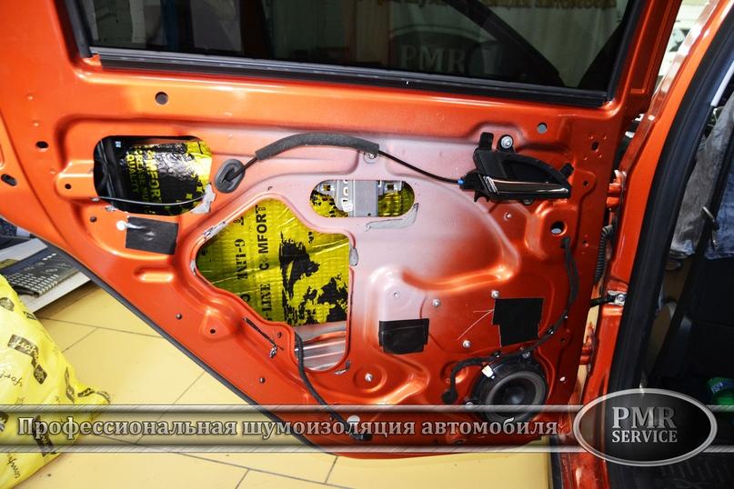 Шумоизоляция Lada Vesta SW Cross, изображение №12