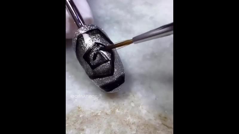 Экспресс дизайн с угловой спиралькой на материалах ROXY