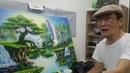 Nghe tâm sự cụ ông 70 tuổi thăm gia khóa học vẽ tranh tường do trung tâm Mỹ Thuật Việt tổ chức