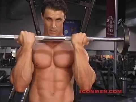 Greg Plitt - Guillotine Curl (Bodybuilding)