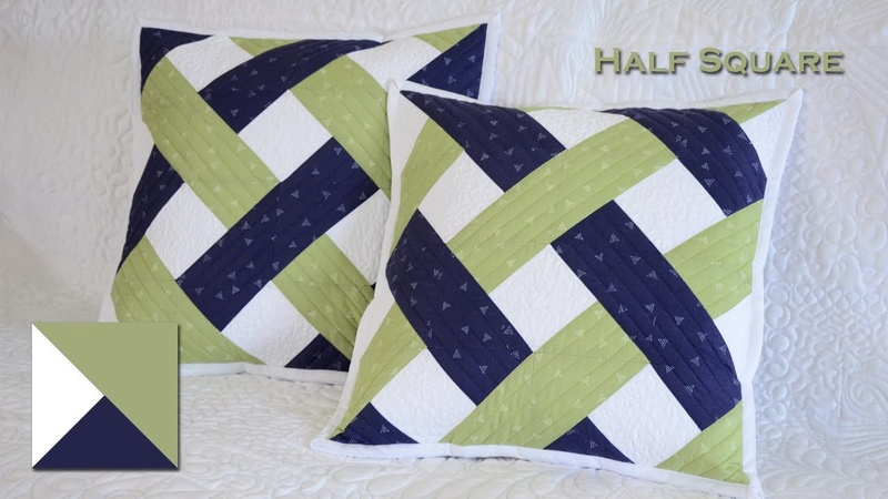 Patchwork Half Square 4 5 Fast sewing Fast and mirror Intertwined stripes