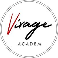 Логотип ВИРАЖ / Студия танца / Академгородок