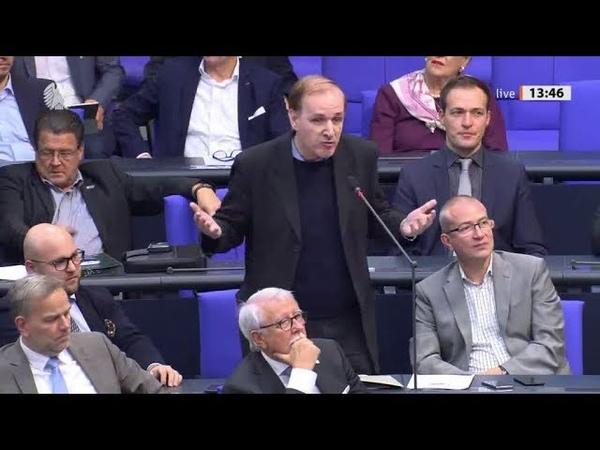 Bundestag AfD stellt mehrere Fragen Zuwanderung Seehofer CSU antwortet 23 10 2019