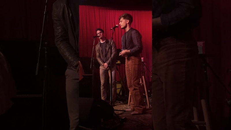Andy Mientus and Darren Criss, Hotel Cafe, 101419