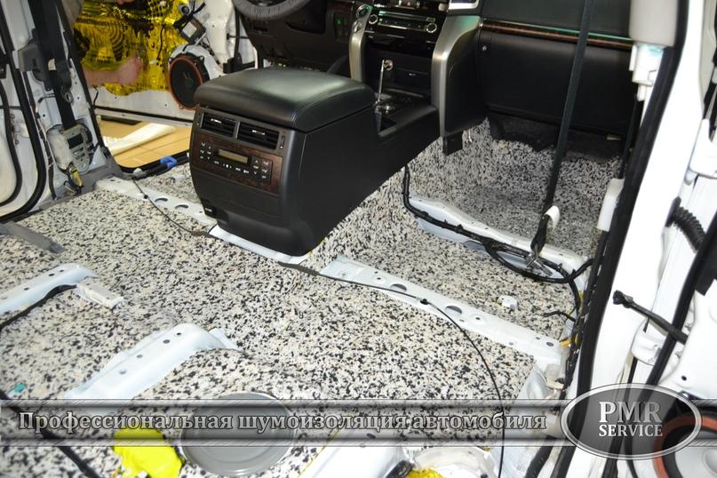 Комплексная шумоизоляция Toyota Land Cruiser 200, изображение №20