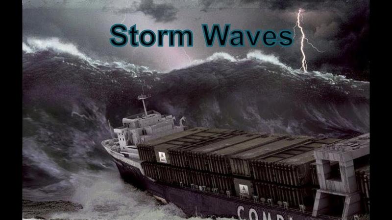 Большая Подборка Опасных Штормов Волны Убийцы A large Selection of Dangerous Storms Killer Waves