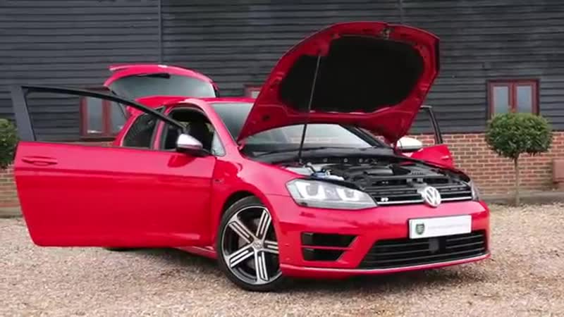 Volkswagen Golf R 2.0 TSI 3dr 4MOTION DSG Automatic Hatchback in Tornado Red 201