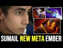 SumaiL Creating a New Meta with Ember Spirit New Favourite Build on Ember Spirit Dota 2 Patch 7 22