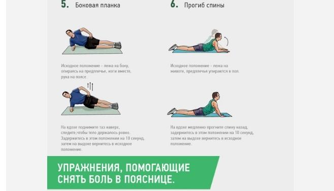 Упражнения, которые помогут снять боль в пояснице, изображение №3