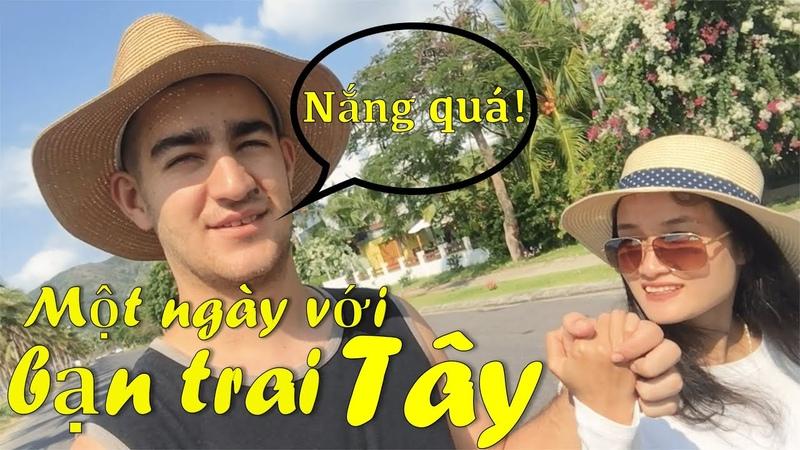 Trai Tây gái Việt - Một ngày với bạn trai Tây - Vlog cặp đôi quốc tế
