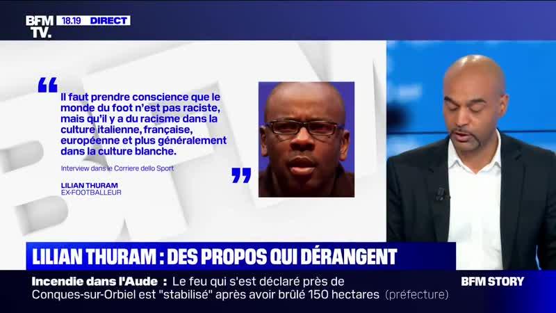 Affaire thuram Dominique Sopo accuse lextrême droite