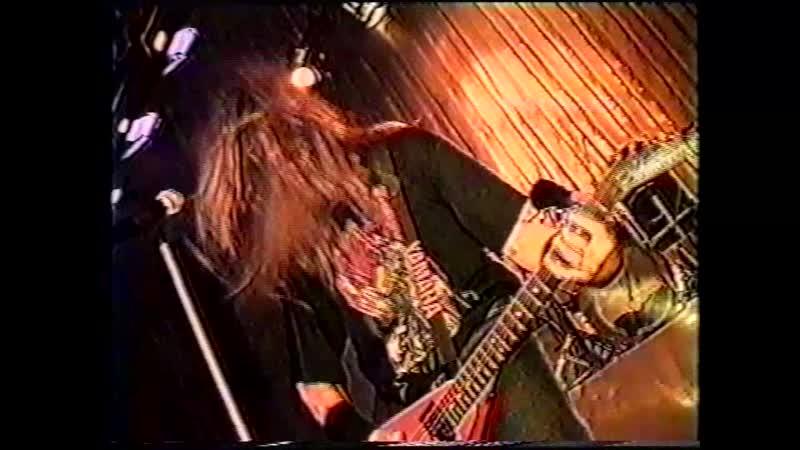 SATAN CHURCH концерт в ДК Космос 12 09 1997