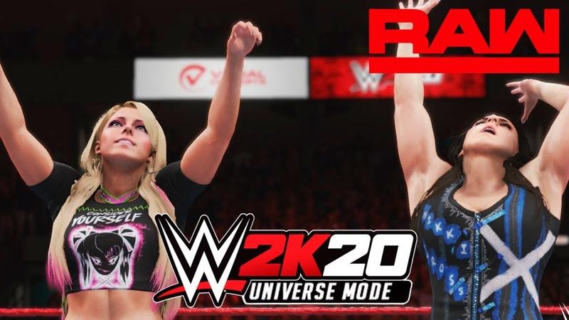 WWE 2K20 Universe Monday Night RAW На Русском 4