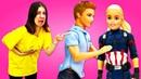Барби стала Капитаном Америка! Видео для девочек - Сериал Школа 47