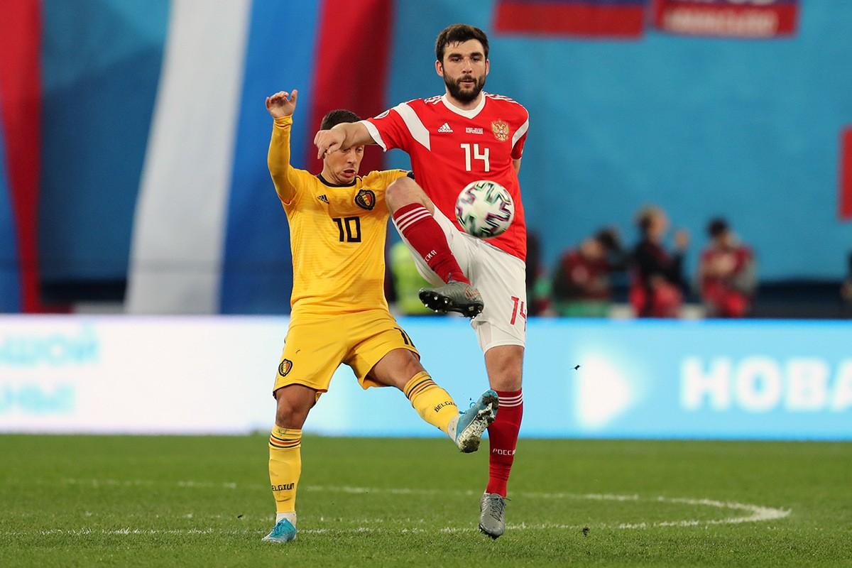 Джикия вошел в сотню лучших игроков отборочного турнира Евро-2020