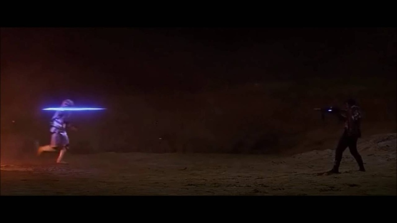 Kylo Ren stops the blaster HD