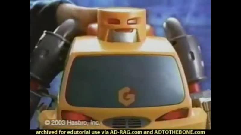 03 Transformers Go Bots Hauler Bot Commercial
