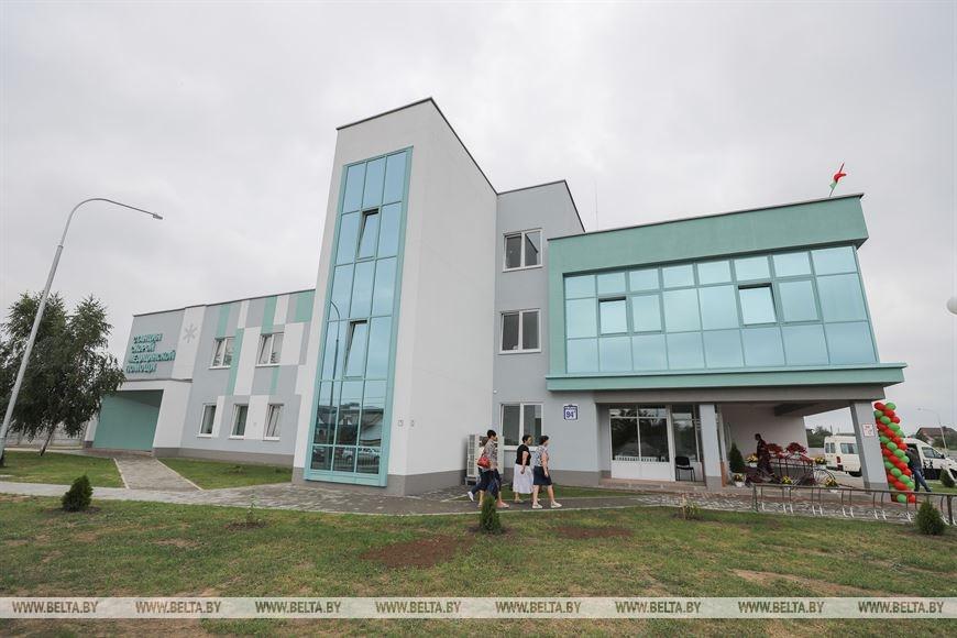 В Барановичах открыли новую станцию скорой помощи