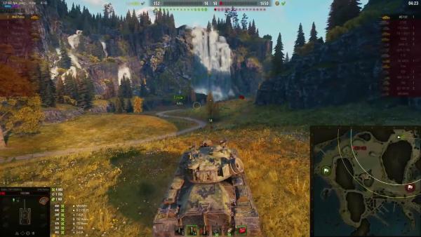 Девушка играет лучше чем 97% Игроков World of Tanks