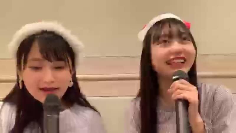 18 Suzuki Kurumi Omori Maho Team Zaka AKB48