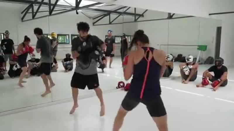 Боксерские упражнения Идо Портал