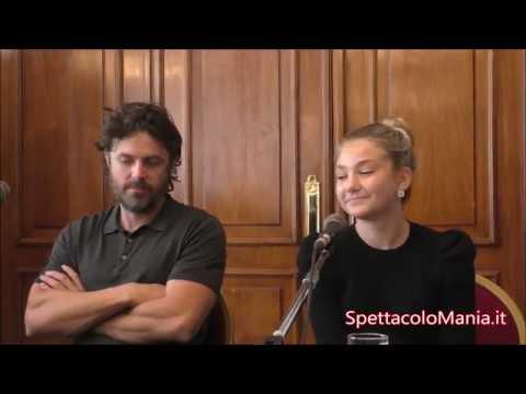 Casey Affleck e Anna Pniowsky presentano Light of my life