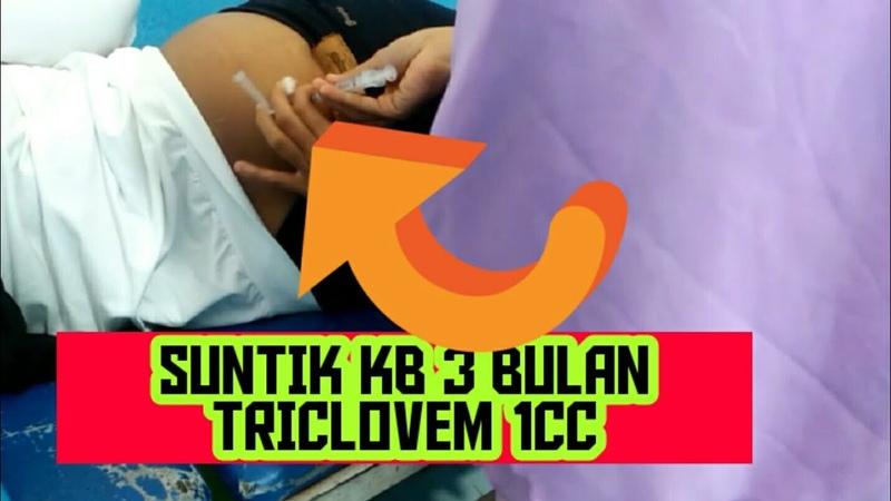 Suntik KB 3 Bulan Triclovem 1cc