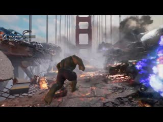 Marvels avengers_ a-day prologue gameplay footage [en esrb]