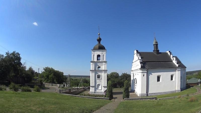 Суботов Ильинская церковь где был погребен Богдан Хмельницкий Остатки родового имения
