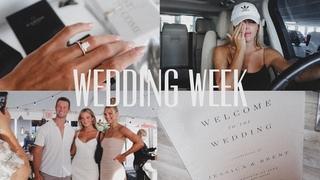 vlog: WEDDING WEEK | wedding prep & writing vows *emotional*