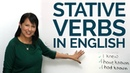 STATIVE VERBS in English