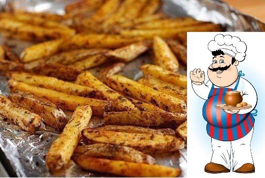 Картофель Фри из духовки
