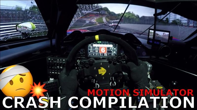 Motion Simulator Car Crash Fail Compilation Onboards 2019