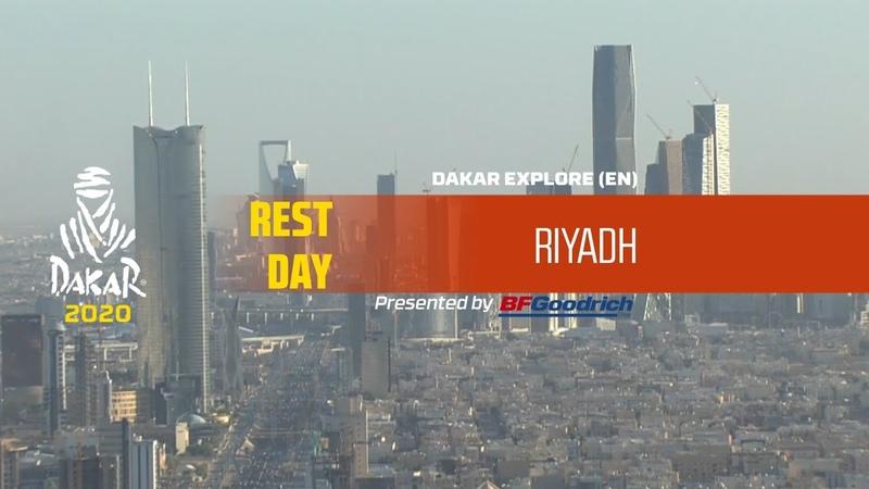Dakar 2020 Rest Day Riyadh