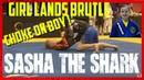 Jiu Jitsu Girl Lands Brutal Choke Against Boy