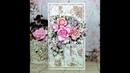 Kartka Shabby Chic kolekcja Dream Garden od Scrap Boys
