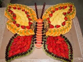 Ну очень красиво...Нарезки бабочки